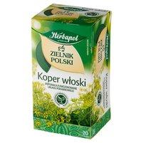 Herbapol Zielnik Polski Herbatka ziołowa koper włoski 40g (20 tb)