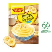 Winiary Budyń z cukrem smak bananowy 60g