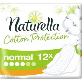 Naturella Cotton Protection Ultra Normal Podpaski ze skrzydełkami 12szt