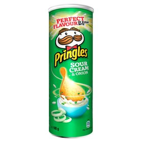 Pringles Sour Cream & Onion Chrupki 165g