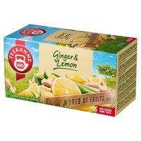 Teekanne World of Fruits Ginger & Lemon Mieszanka herbatek ziołowych i owocowych 35g (20 tb)