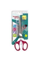 Nożyczki dla dzieci leworęcznych, 16.5 cm, uchwyt dwukolorowy, blister, Happy Color