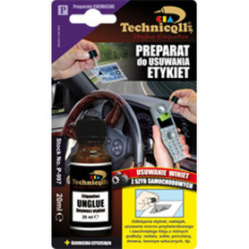 TECHNICQLL Preparat do usuwania etykiet 20ml