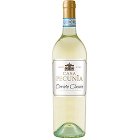Casa Pecunia Orvieto Classico Wino białe wytrawne włoskie 750ml