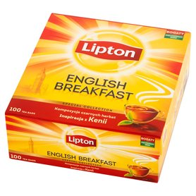 Lipton English Breakfast Herbata czarna 200g (100 tb)