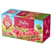 Teekanne World of Fruits Raspberry Aromatyzowana mieszanka herbatek owocowych 50g (20 tb)