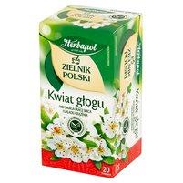 Herbapol Zielnik Polski Kwiat głogu Herbatka ziołowa 40g (20 tb)