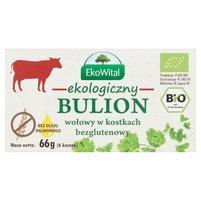 EkoWital Ekologiczny bulion wołowy w kostkach 66g (6x11g)