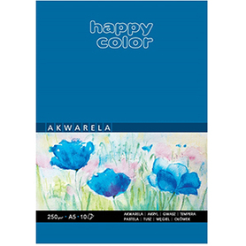 Happy Color Blok akwarelowy A5/10K 250g 1szt.