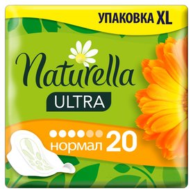 Naturella Ultra Normal Calendula Tenderness Podpaski 20szt