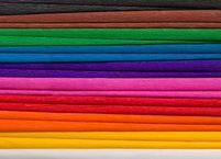 Bibuła marszczona, 25x200 cm, 10 rolek, 10 kolorów, miks A, Happy Color