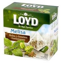 Loyd Herbatka ziołowa melisa z chmielem i kardamonem 40g (20 tb)