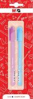 Długopis żelowy Adorable Pets, 0.5mm, niebieski, różne motywy, 2szt blister,  MG