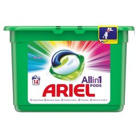 Ariel Allin1 Pods Color Kapsułki do prania 400g (14 prań)