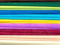 Bibuła marszczona, 25x200 cm, 10 rolek, 10 kolorów, miks C, Happy Color