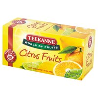 Teekanne World of Fruits Citrus Fruits Mieszanka herbatek owocowych 45g (20 torebek)