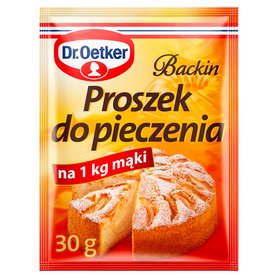 Dr. Oetker Backin Proszek do pieczenia 30g