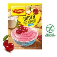 Winiary Budyń z cukrem smak wiśniowy 60g