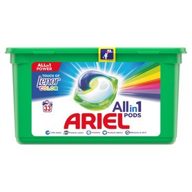 Ariel Allin1 Pods Touch of Lenor Fresh Color Kapsułki do prania 900g (33 prań)