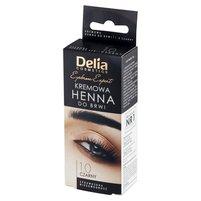 Delia Cosmetics Eyebrow Expert Kremowa henna do brwi 1.0 czarny
