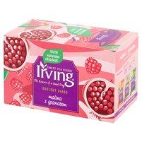 Irving Owocowy Ogród Herbatka owocowa malina z granatem 40g (20 tb)