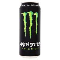 Monster Energy Gazowany napój energetyzujący 500ml