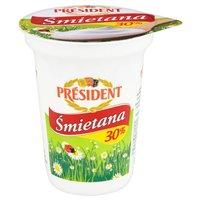 Président Śmietana 30% 350g