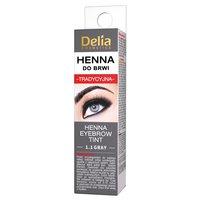 Delia Cosmetics Henna do brwi tradycyjna 1.1 gray