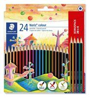 Kredki Noris colour, Wopex, 24 kol. (20+4 gratis), Staedtler