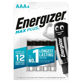 Energizer Max Plus AAA-LR03 1,5V Baterie alkaliczne 4szt.