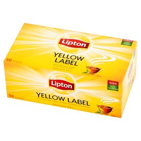 Lipton Yellow Label Herbata czarna 100g (50 tb)