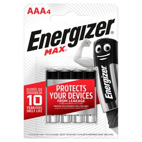 Energizer Max AAA-LR03 1,5V Baterie alkaliczne 4szt.