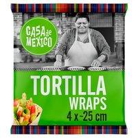Casa de Mexico Tortilla wrap 25 cm (4 szt.) 240g