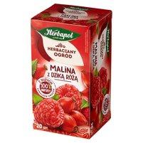 Herbapol Herbaciany Ogród Herbatka owocowo-ziołowa malina z dzika różą 54g (20 tb)