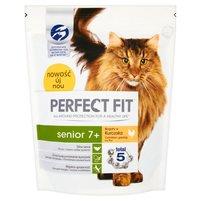 Perfect Fit Senior 7+ Karma pełnoporcjowa dla starszych kotów 750g