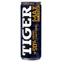 Tiger Max Classic Energy Drink Gazowany napój energetyzujący 250ml