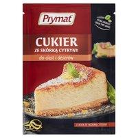 Prymat Cukier ze skórką cytryny do ciast i deserów 15g