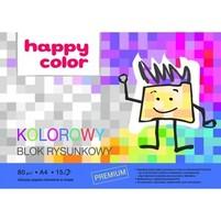 Happy Color Blok rysunkowy Kolorowy A4 1szt.