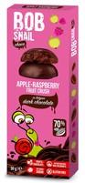Przekąska jabłkowo-malinowa w ciemnej czekoladzie 30 g