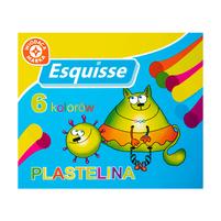 WM Plastelina 6 kolorów 1op.