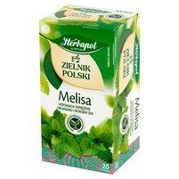 Herbapol Zielnik Polski Herbatka ziołowa melisa 40g (20 tb)
