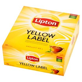 Lipton Yellow Label Herbata czarna 184g (92 tb)