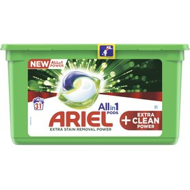 Ariel Allin1 Pods +EXTRA CLEAN Kapsułki do prania 850g (31 prań)