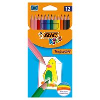 BiC Kids Tropicolors Kredki 12 kolorów 1op.