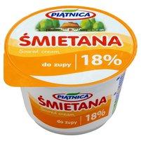 Piątnica Śmietana do zupy 18% 200g