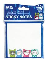 Karteczki samoprzylepne So Many Cats; 7,6x7,6cm, 80ark, MG