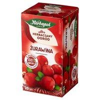 Herbapol Herbaciany Ogród Herbatka owocowo-ziołowa żurawina 50g (20 tb)
