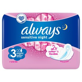 ALWAYS Sensitive Ultra Night Podpaski higieniczne