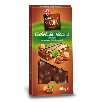 WM czekolada mleczna z całymi orzechami laskowymi 100g