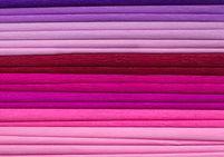 Bibuła marszczona, 25x200 cm, 10 rolek, miks 8 kolorów różowych, Happy Color